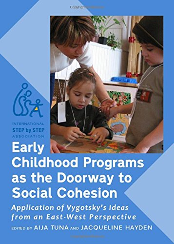 Early Childhood Programs as the Doorway to Social Cohesion: Application of Vygotsky's Ideas from an East-West Perspectiv
