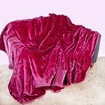 Large Mink Faux Fur Throw 150cm x 200...
