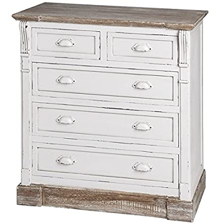 New England Five Drawer Chest of Drawers 13407