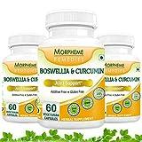 Morpheme Boswellia & Curcumin - 500mg Extract 60 Veg Caps - 3 Bottles