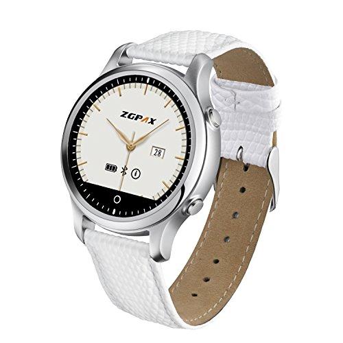 ZGPAX-S360-Bluetooth-Smart-Watch-Montre-Intelligente-Enfant-SOS-Le-Positionnement-GPS-Suivi-de-Sport-Alertes-de-SMS-Pour-Samsung-Iphone-Android-Smartphone-IOS-72-abpve-und-Android-40-above-Blanc