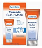 Acnefree Therapeutic Sulfur Mask, 1.7-Ounce (Pack of 2)
