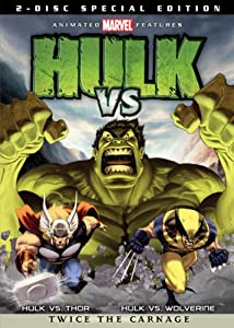 NEW Hulk Vs (DVD)