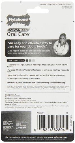 Nylabone Advanced Oral Care Dog Finger Brush  Pack Amazon