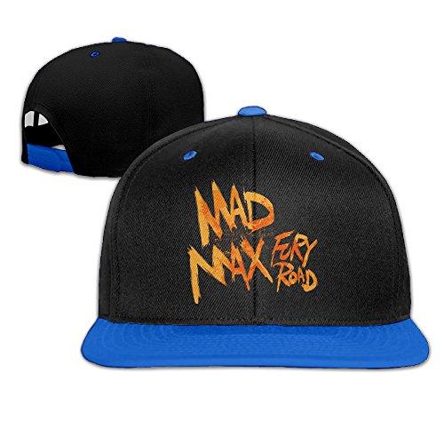 ZOENA Mad Max Fury Road Hip-Hop Cotton Hats Hiphop Snapback Hat RoyalBlue