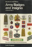 img - for Army Badges and Insignia of World War 2 Book 1 Great Britain,Poland,Belgium,Italy,U.S.S.R.,Germany (Colour) (Bk. 1) book / textbook / text book