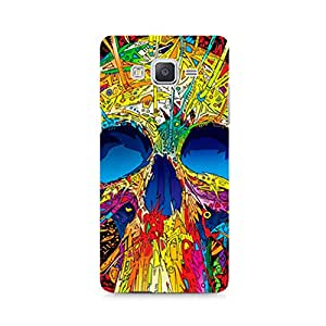 Motivatebox - Abstract Skull Art Samsung Galaxy Grand 2 G7106 cover - Polycarbonate 3D Hard case protective back cover. Premium Quality designer Printed 3D Matte finish hard case back cover.