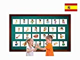 Tarjetas Educativas Español -Partes del cuerpo - Body Parts Flashcards in Spanish