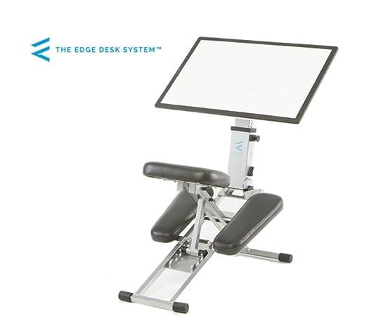 Il bordo scrivania sistema ergonomico regolabile in ginocchio da scrivania e sedia combinazione superficie di lavoro mobile