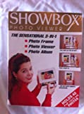 Showbox Photo Viewer White 4 x 6