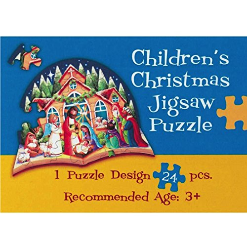 Children's Christmas Nativity Jigsaw Puzzles (Set of 6 Puzzles)