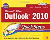 img - for Microsoft Office Outlook 2010 QuickSteps book / textbook / text book