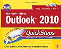Microsoft Office Outlook 2010 QuickSteps, 2nd Edition Front Cover