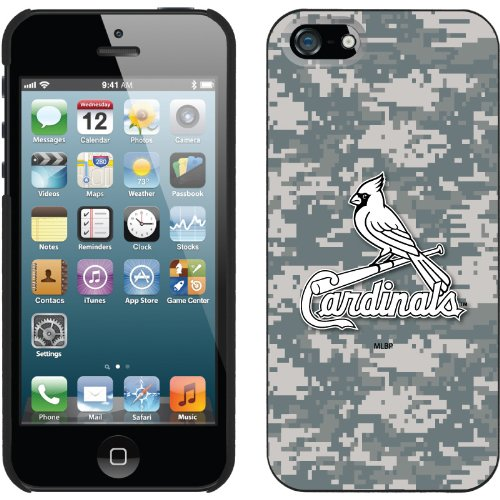 Special Sale St. Louis Cardinals - Digi Camo Cardinals design on a Black iPhone 5s / 5 Thinshield Snap-On Case by Coveroo