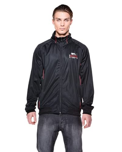 Lonsdale Chaqueta Red Stripe Negro
