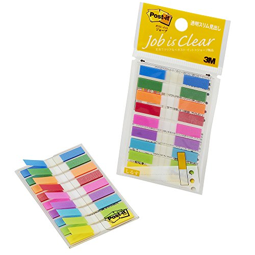 20-hojas-x-9-pad-680msh-44-x-6-mm-color-mezclado-post-it-jobe-transparente-slim-partida-japon