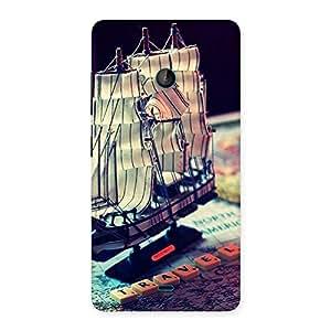 Cute Travel ship Multicolor Back Case Cover for Lumia 540