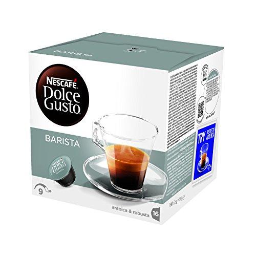 NESCAFÉ DOLCE GUSTO BARISTA Caffè espresso 6 confezioni da 16 capsule [96 capsule]