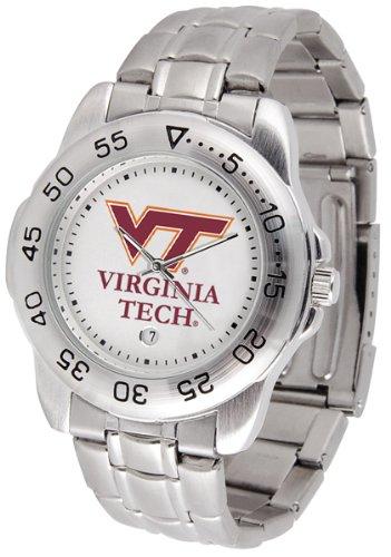 Virginia Tech Hokies Steel Sports Watch