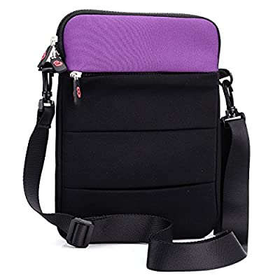 Purple Retro V-Bag Fits Dragon Touch MID970IPS Tablet
