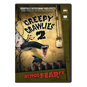 AtmosFEARfx Creepy Crawlies 2 Halloween Digital Decorations from AtmosFX