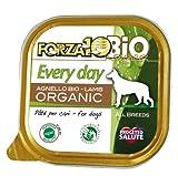 FORZA10 犬用缶詰 100%オーガニック エブリデイビオ ラム 100g フォルツァ10