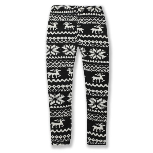 Basico Kids Fleece Leggings Winter Skinny Nordic Indian