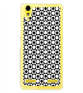 ifasho Designer Phone Back Case Cover Lenovo A6000 :: Lenovo A6000 Plus :: Lenovo A6000+ ( Yellow and Brown Pattern Design Wood Look )