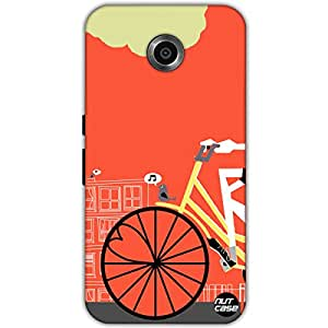Designer Google Nexus 6 Case Cover Nutcase - Cycle On A Beautiful Day