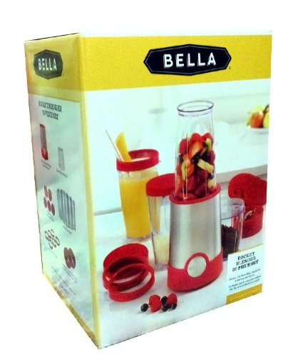 Bella Rocket Blender 20 Piece Set - Red