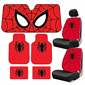 spider man car seat covers 2017 2018 best cars reviews. Black Bedroom Furniture Sets. Home Design Ideas