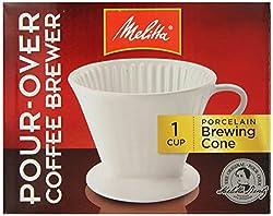 Melitta 64101 Porcelain #2 Cone Brewer by Melitta