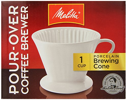 Melitta 64101 Porcelain #2 Cone Brewer (Porcelain Coffee Cone compare prices)