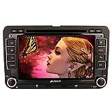 PUMPKIN-2-Din-Autoradio-Naviceiver-fr-Jetta-Golf-Passat-mit-7-Zoll-Touch-Screen-GPS-Navigation-Bluetooth-Freisprechfunktion-CanBus-DVD-CD-Player