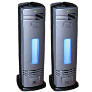 3Q AP04S Twin Pack Electrostrostatic Ionic Air Purifier, Cleaner