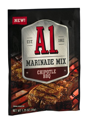 A.1. Marinade Mix Packet, Chipotle Bbq, 1.25 Ounce (Pack Of 12)