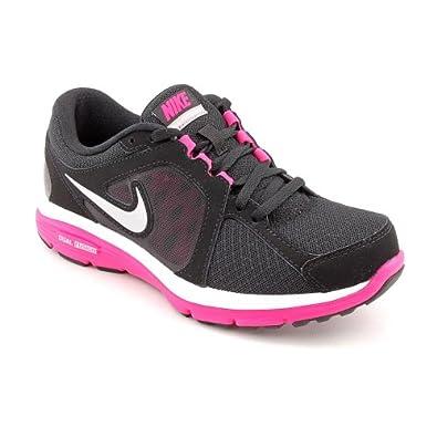 NIKE Dual Fusion RN 3 Ladies Running Shoes, Black/White