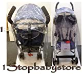 1Stopbabystore NEW UNIVERSAL STROLLER RAIN COVER SILVER CROSS POP XLR RAINCOVER FIT MOST