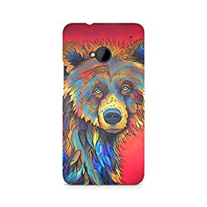 Mobicture Animal Premium Designer Mobile Back Case Cover For HTC One M7
