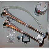 Fanfare BIG BLAST Road Master 12 V mit Kompressor 118 dB Metallausführung Neu !!