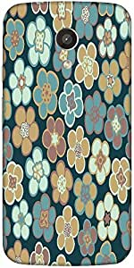 Snoogg Seamless Floral Pattern Flowers Texture Daisy Designer Protective Back...