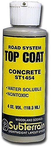 Woodland Scenics Concrete Top Coat, 4oz WOOST1454 - 1