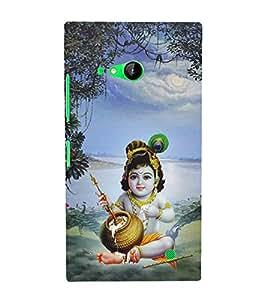 Aditya Krishna Kisna 3D Hard Polycarbonate Designer Back Case Cover for Nokia Lumia 730 :: Microsoft Lumia 730 :: Microsoft Lumia 735