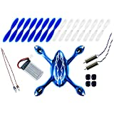 Hubsan X4 H107C Quadcopter Crash Pack - Spacial Royal BLUE (Tekstra Brands Exclusive!!)