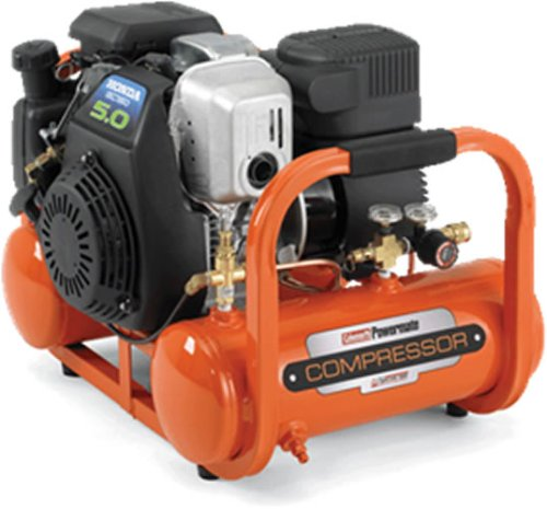Image of Coleman Powermate Contractor Series Gas Portable Air Compressor ? 5 HP, 4 Gallon Tank #CTA5090412 (CTA5090412)