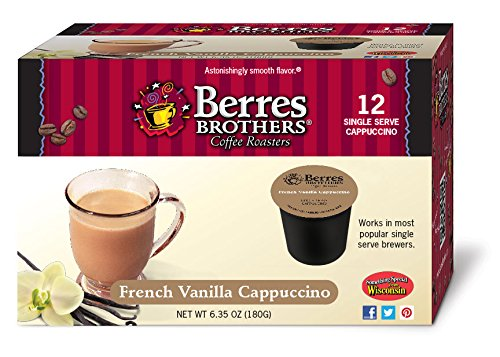 Berres Brothers French Vanilla Cappuccino Single Serve Kups