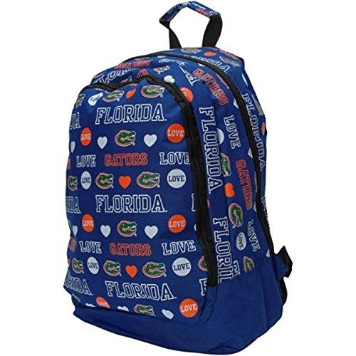 NCAA Florida Gators 2014 Mural Love Backpack, One Size, Blue