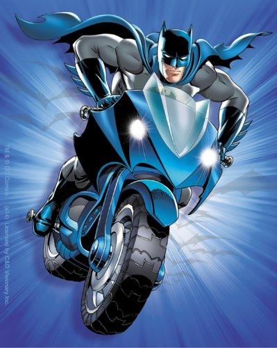 Licenses Products DC Comics Batman Bat Bike Sticker - 1