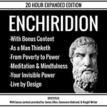 The Enchiridion & Bonus Content Audiobook by  Epictetus Narrated by Greg McCarthy, Patrick Jonathan, Danny Hughes, Knight Writer