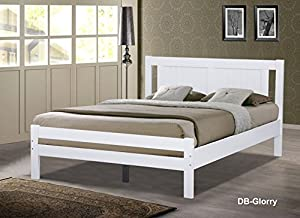 wooden white single ,small double and double bed (single 3ft)       Customer review and more information
